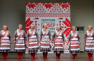 Удмуртский Дед Мороз приедет на Гербер в Москву