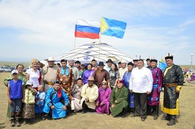 """В Туве отметили народный праздник """"Наадым"""""""