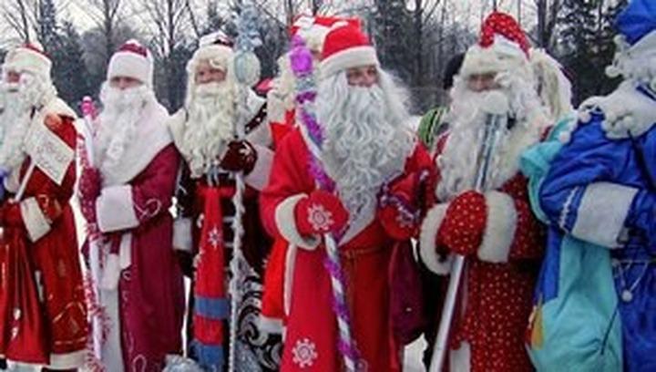Самарских детей поздравит многонациональный коллектив Дедов Морозов
