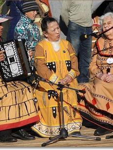 Алеуты Командорских островов отпраздновали День аборигена