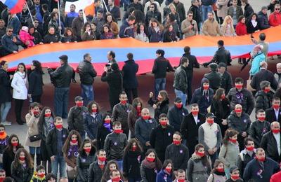 В Москве несколько тысяч человек вспомнили геноцид армян