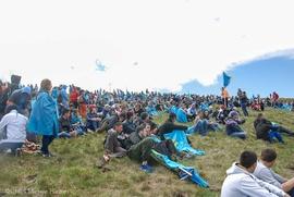 Крымские татары взошли на Чатыр-Даг в память о жертвах депортаций