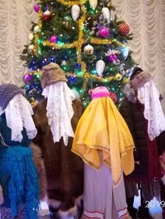 """Русские арктические старожилы Якутии отметили """"Машкараты"""""""