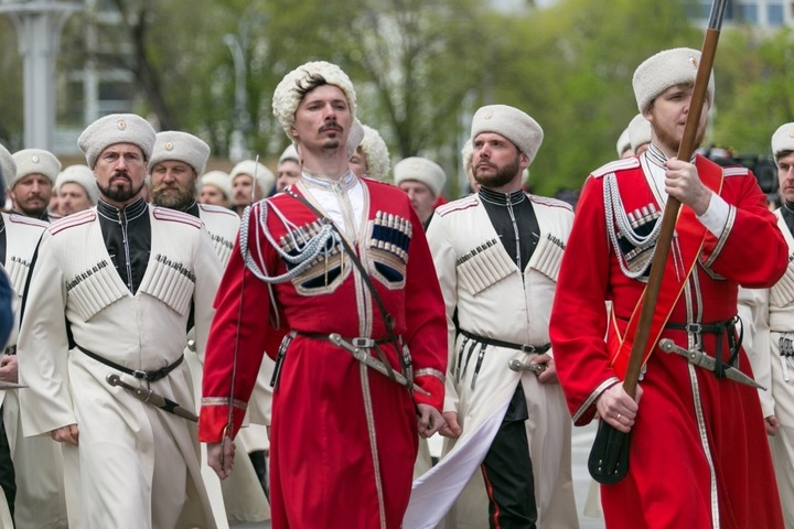 Парад казаков-2019 в Краснодаре