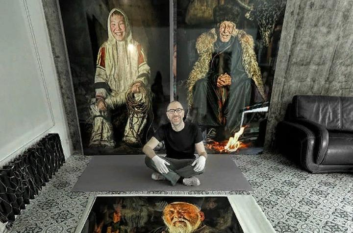 Фотопортреты бурят и сойотов представят на выставке в Париже