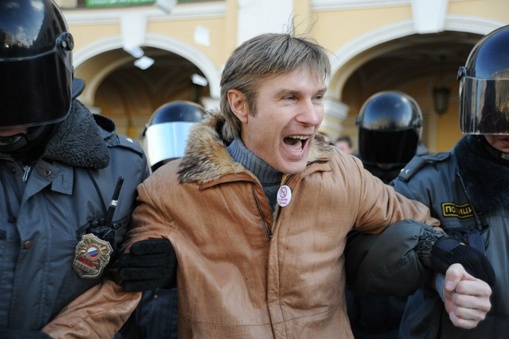 Националиста Бондарика арестовали в Саратовской области на две недели