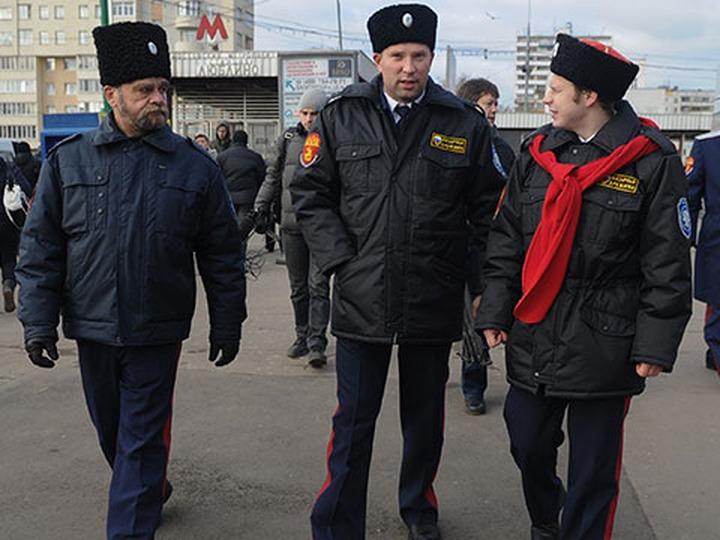 Казачьи услуги по охране правопорядка на улицах Москвы станут платными