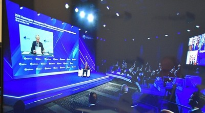 Путин: сильное, свободное, самостоятельное гражданское общество национально ориентированно и суверенно