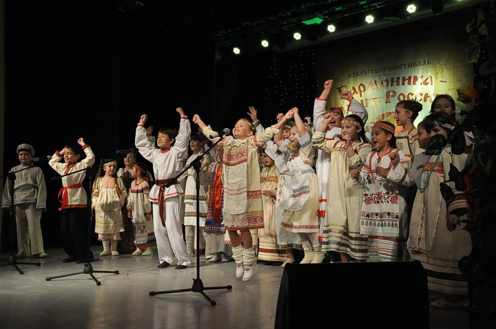 """В Подмосковье прошел фестиваль """"Гармоника - душа России"""""""