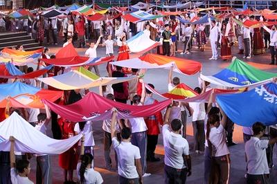 Грандиозный праздник народной культуры состоялся в Сочи