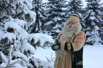 Кыш Бабай и Паккайне вошли в десятку самых популярных Дедов Морозов России