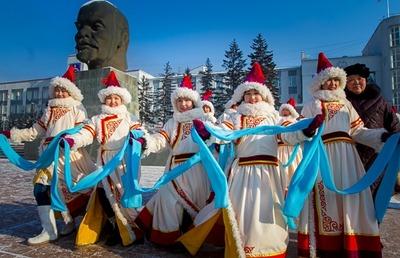 В Москве отпразднуют Сагаалган