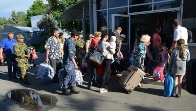 Ростовское правительство заявило о росте числа беженцев с Украины