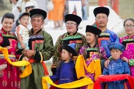 В Бурятии школьники соревновались в знании национальных традиций