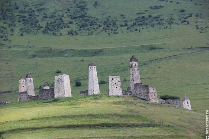 Дорогу к средневековым башням отремонтируют в Ингушетии до конца октября