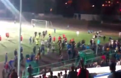 Национальные общины Братска сорвали футбольный матч