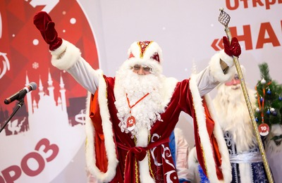Шествие национальных Дедов Морозов прошло в Казани