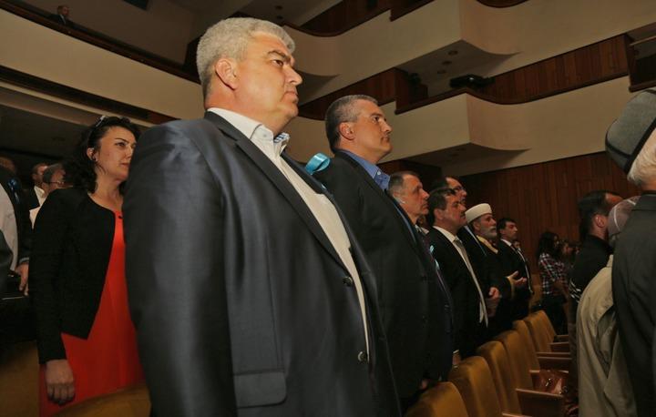 Глава Крыма принял участие в вечере-реквиеме ко Дню депортации крымских татар