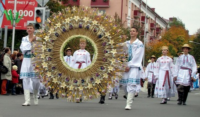 Красноярские белорусы отпраздновали Дожинки