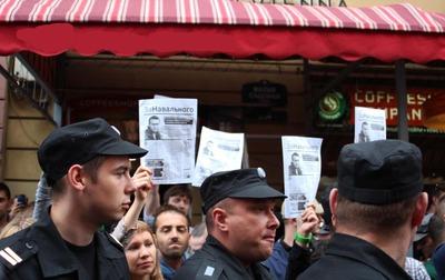 Националисты объяснили, почему не поддержали акцию в защиту Навального в Москве