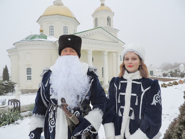 В Ставропольском крае с Рождеством казаков поздравит казачий Дед Мороз