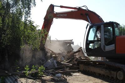 Еще 16 цыганских домов снесли в Плеханове