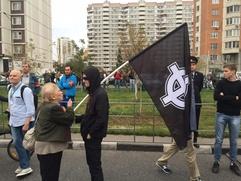 Националисты приняли участие в митинге оппозиционеров в Москве