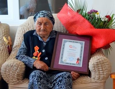 Долгожительница из Кабардино-Балкарии попала в Книгу рекордов России