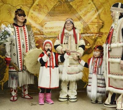 В Дудинке продемонстрировали творчество  нганасан, энцев, ненцев, эвенков, кетов и долган