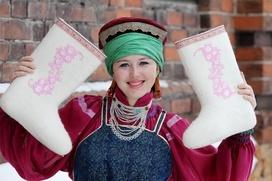 В Нижегородской области провели фестиваль валенок