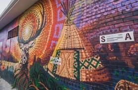 Огромное граффити с героями сказок и легенд хантов и манси появится в Югре