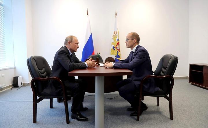Врио главы Удмуртии Бречалов рассказал Путину о работе с народами региона