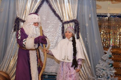 Русский Дед Мороз навестит Тол Бабая только в январе