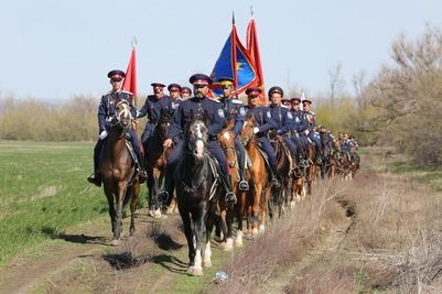 Участники казачьего похода на Севастополь прибыли в Новочеркасск