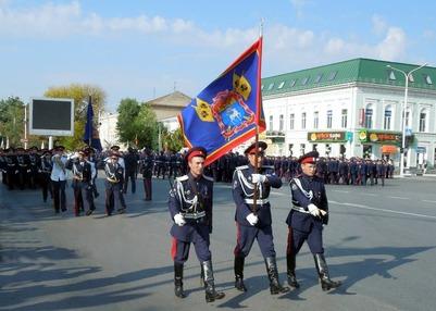 Казак сделал предложение возлюбленной перед отправкой в Москву для подготовки к Параду Победы