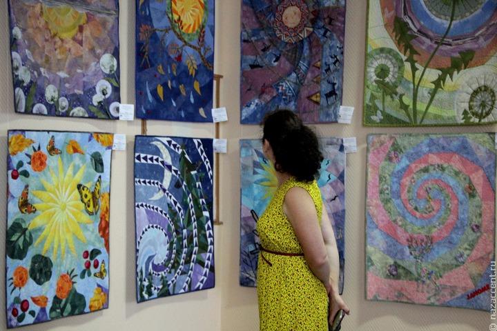 Лоскутную мозаику России представили в Иваново