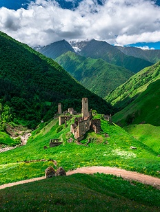 Первую школу национальных традиций в средневековом стиле открыли в Ингушетии
