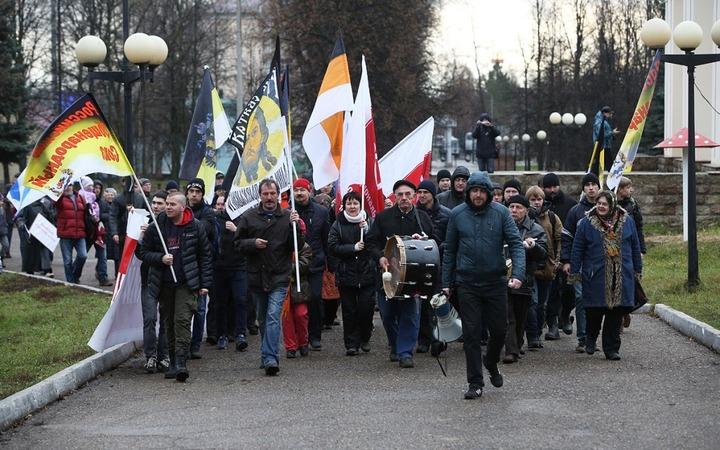 "Участники ""Русского марша"" в Казани кричали ""Татарлар, алга!"""