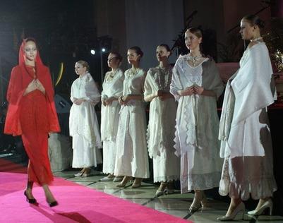 В Ставрополе завершился фестиваль православной и казачьей одежды