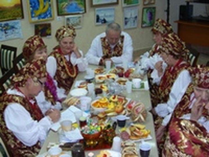 В Казани устроили русские посиделки