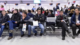 ФМС: Поток трудовых мигрантов в Москве увеличился на 40%