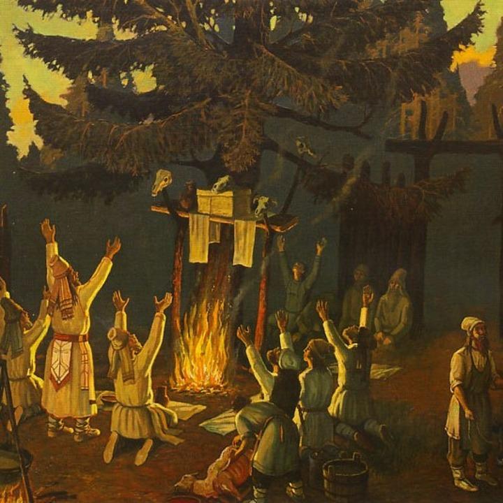 Редкие записи фольклора удмуртов представили на выставке в Петербурге