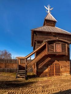 """В иркутских """"Тальцах"""" откроют обновленную экспозицию Илимского острога"""