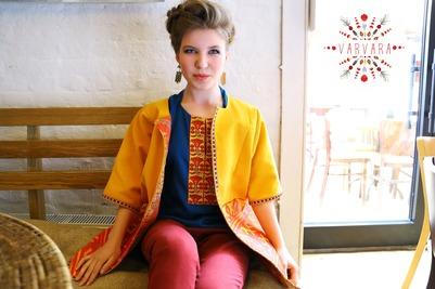 Создатель бренда одежды в русском национальном стиле победила в конкурсе предпринимателей