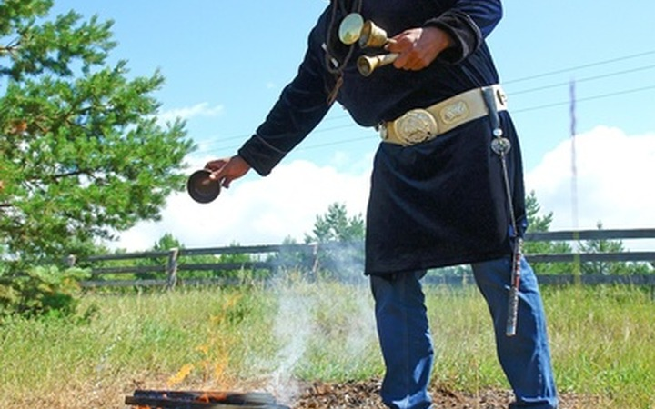 Шаманы Кемеровской области попросили у духов здоровья для жителей Кузбасса