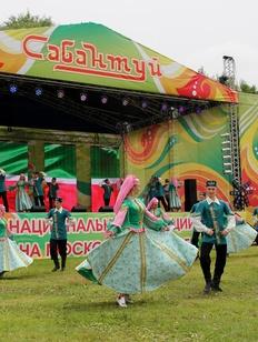 Московский Сабантуй отметили праздничным концертом и регатой