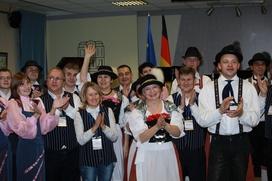 Рождественские песни на немецком споют в Москве