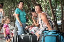 ФМС: Украинские беженцы стали активнее возвращаться на родину