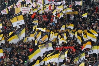 Демушкин: Никто не запретит националистам использовать имперский флаг