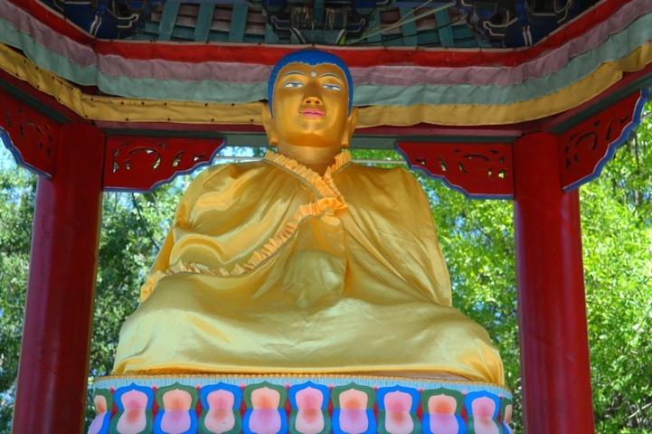 Осквернившего статую Будды борца возвратят в Дагестан